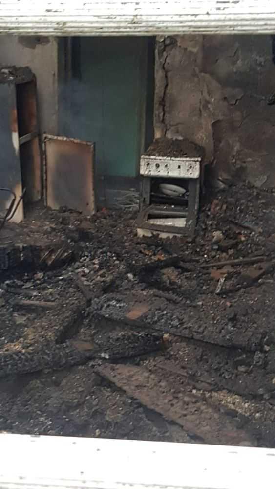 Наша квартира после пожара, Ноградская 11 кв 1/38